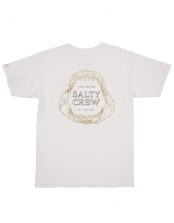 SALTY CREW BUZZSAW T-SHIRT WHITE