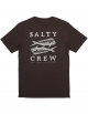 SALTY CREW DOUBLE UP T-SHIRT BLACK HEATHER