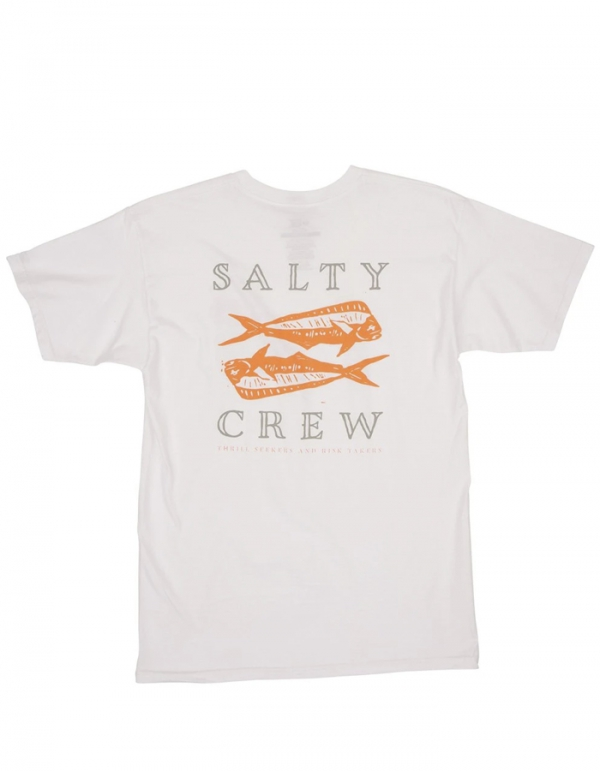 SALTY CREW DOUBLE UP T-SHIRT WHITE