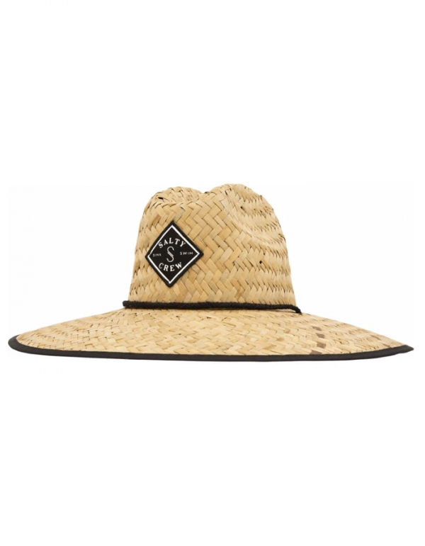 SALTY CREW TIPPET COVER UP STRAW HAT CAPPELLO IN PAGLIA