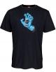 SANTA CRUZ SCREAMING HAND T-SHIRT BLACK