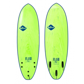 SOFTECH FLASH ERIC GEISELMAN 5'0''-7'0'' SOFTBOARD FCSII GREEN MARBLE