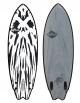 "SOFTECH MASON TWIN 5'6"" - 5'10"" SOFTBOARD FCSII  GUN METAL BLACK"