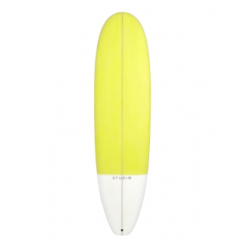 "STUDIO SURFBOARDS MID LENGHT 7'2"" FLARE ANSIE WHITE"