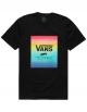 VANS T-SHIRT CLASSIC PRINT BOX BLACK-SPECTRUM TIE DYE
