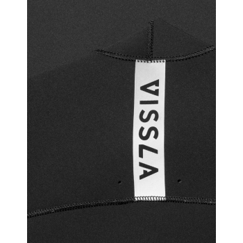 VISSLA 7 SEAS 3/2 MUTA FULL CHEST FRONT ZIP 2018 BLACK FADE