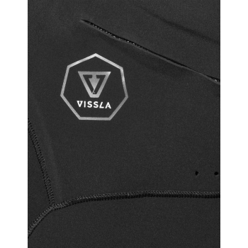 VISSLA 7 SEAS 3/2 MUTA FULL CHEST FRONT ZIP 2018 BLACK FADE