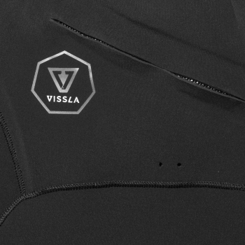 VISSLA 7 SEAS 5/4 MUTA FULL FRONT ZIP 2018 BLACK