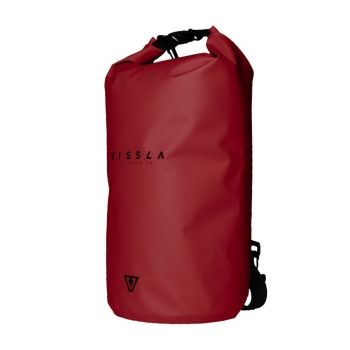 VISSLA 7SEAS DRY BAG SACCA STAGNA RED 20L