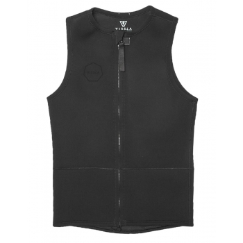 VISSLA CORPETTO FRONT ZIP VEST 2MM STEALTH