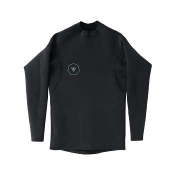 VISSLA CORPETTO REVERSIBILE PERFORMANCE JACKET LS 1MM BLACK